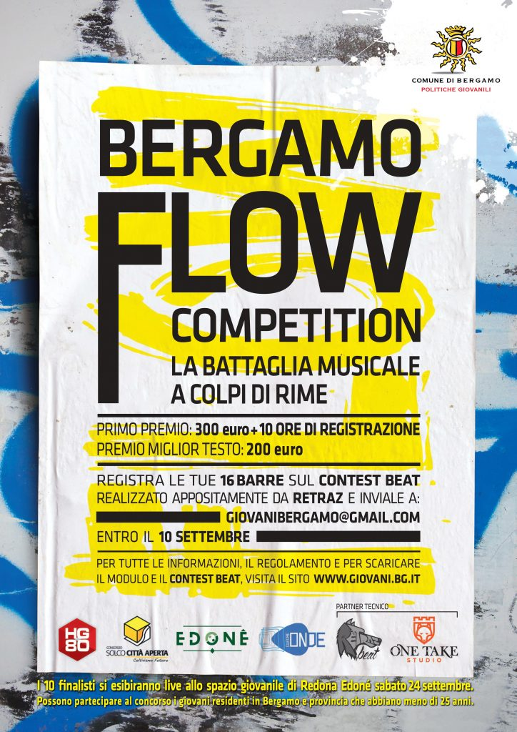Bergamo Flow Competition poster