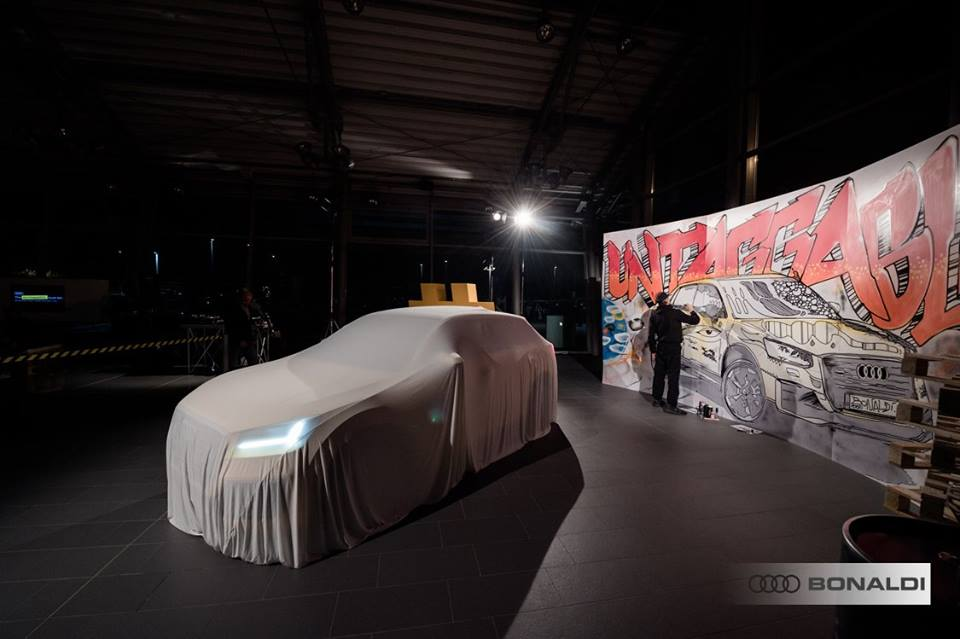 Arte per l'Impresa: Bonaldi Audi Q2 Hg80