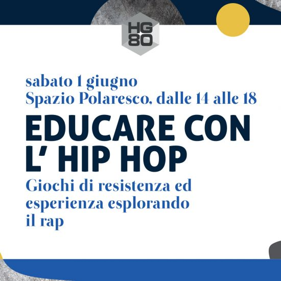 Evento Educare con l'hip hop