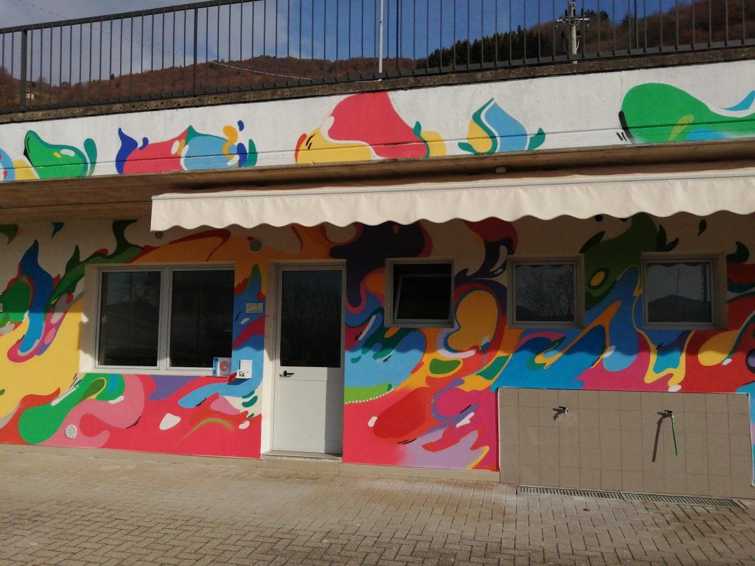 Centro Sportivo Aviatico Restyling murale