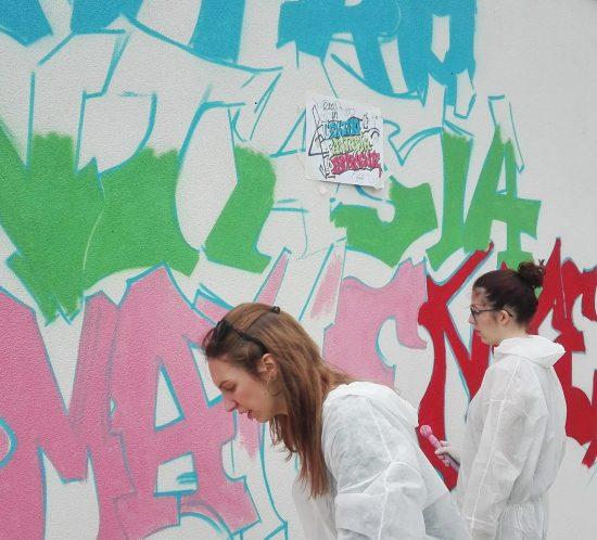 Istituto sistema arte partecipata murales