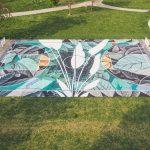 Fabio Petani SAB street art ball project campetto basket