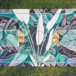 Fabio Petani SAB street art ball project campetto basket Gorle